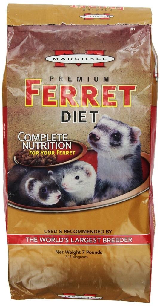 Marshall Premium Ferret Diet - Best Ferret Food