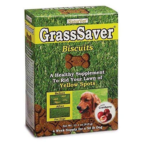 NaturVet GrassSaver Biscuits - Dog Urine Killing Grass