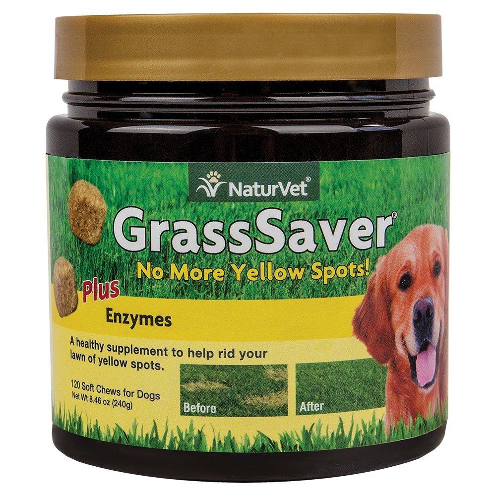 NaturVet GrassSaver Soft Chews - Dog Urine Killing Grass