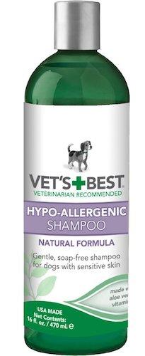 Vet's Best Hypo-Allergenic Dog Shampoo for Sensitive Skin
