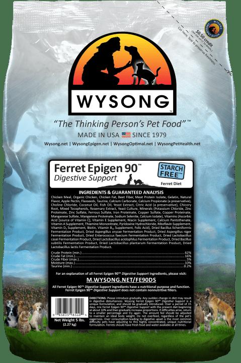 Wysong Ferret Epigen 90 Digestive Support - Dry Ferret Food