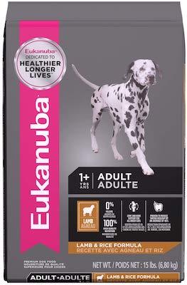 Eukanuba Adult Dog Food Lamb and Rice