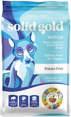 Solid Gold Wolf Cub Puppy Formula
