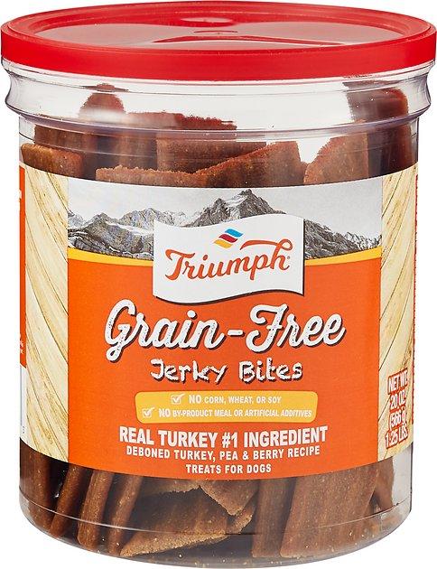 Triumph Dog Turkey, Pea, & Berry Grain Free Jerky