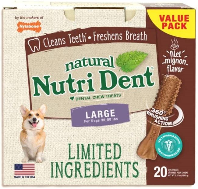 natural nutrident dental chews