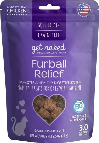 Get Naked Furball Relief Grain-Free Soft Cat Treats-min