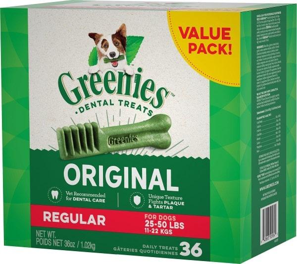Greenies Original Dental Dog Treats-min