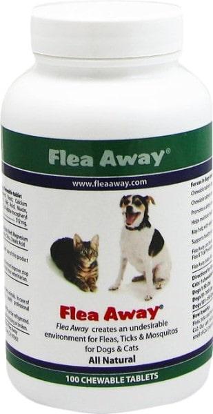 PEUCD Flea Away All Natural Flea Repellent-min