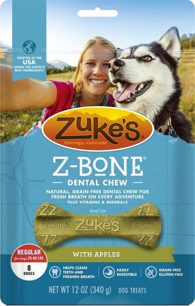 Zuke's Z-Bones Dental Dog Treats-min