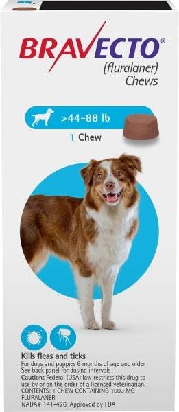 bravecto dog flea treatment-min