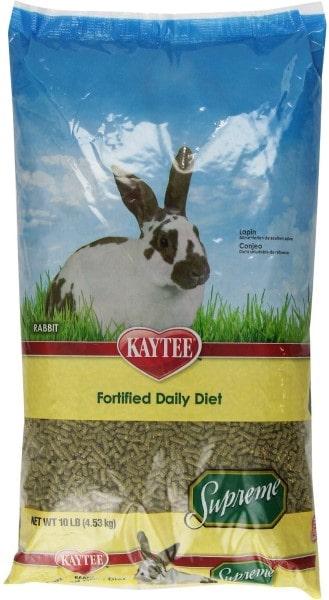 Kaytee Supreme Fortified Daily Diet Rabbit Food-min