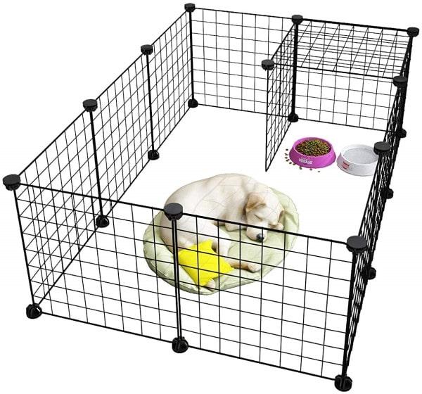 Langria 24-Piece Small Animal Cage-min