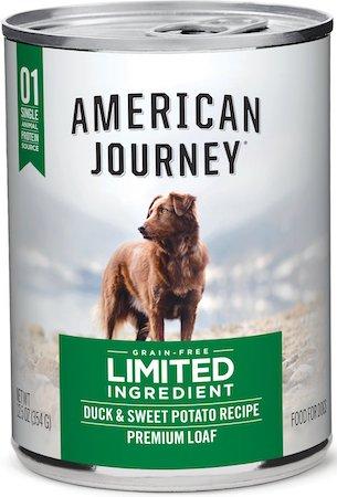 American Journey Limited Ingredient Grain-Free Duck & Sweet Potato Recipe-min