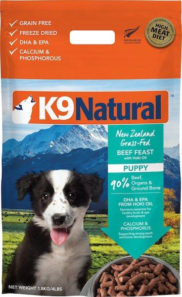 K9 Natural Grain-Free Puppy Freeze-Dried Dog Food-min
