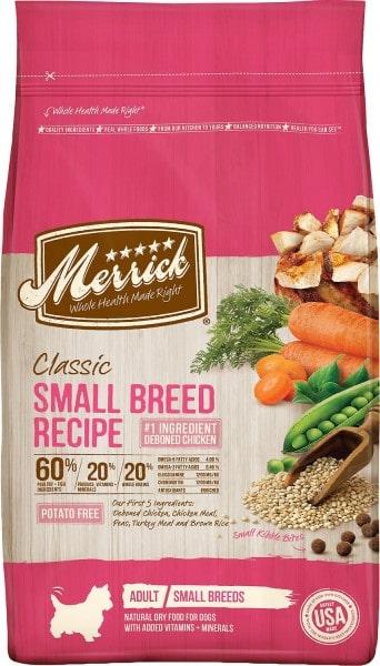 Merrick's Classic Small Breed Dry Dog Food-min