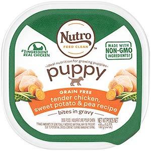 Nutro Puppy Grain-Free Dog Food Trays-min