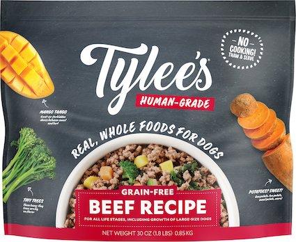 Tylee's Human-Grade Beef Recipe Frozen Dog Food-min