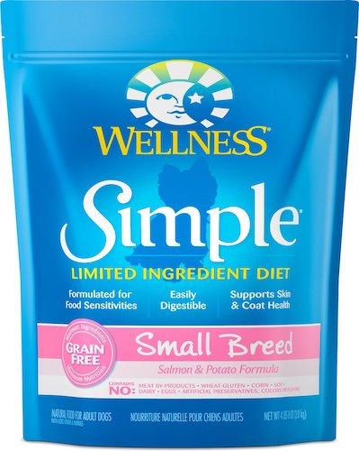 Wellness Simple Limited Ingredient Diet Grain-Free Small Breed-min