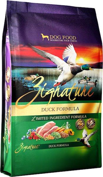 Zignature Duck Limited Ingredient Formula Grain-Free Dry Dog Food-min