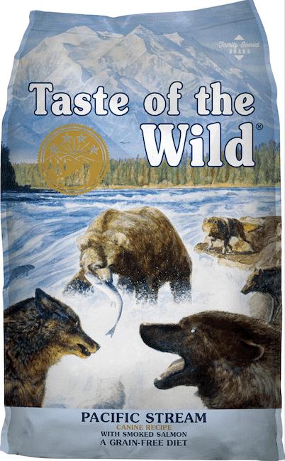 taste of the wild grain free dog food-min