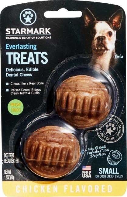 Starmark Everlasting Chicken Flavored Dental Dog Treats