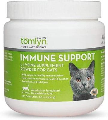 Tomlyn Immune Support L-Lysine Powder Cat Supplement