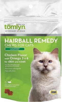 Tomlyn Laxatone Hairball Remedy Chews
