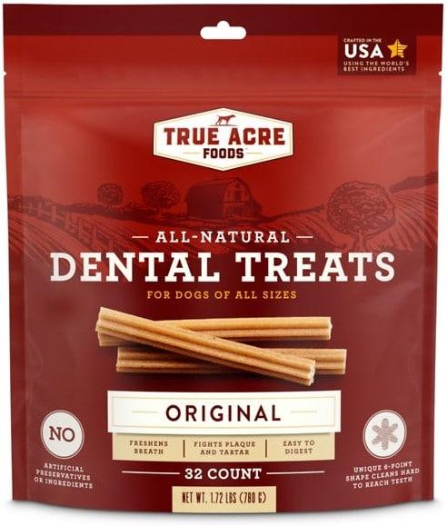 True Acre Foods, All-Natural Dental Chew Sticks